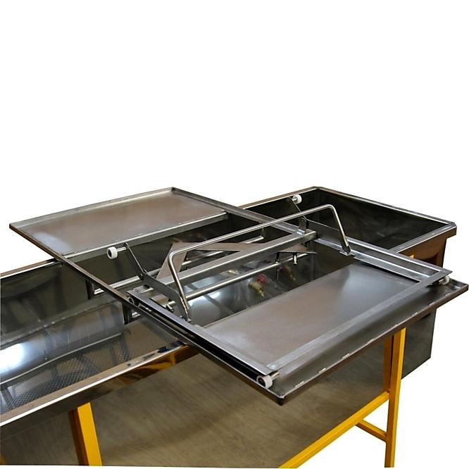 Станок для распечатки сотовых рамок с клиновидным ножом (ручной)