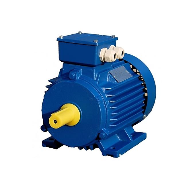 Трехфазный асинхронный двигатель 0,75 кВт. 1000 об/мин